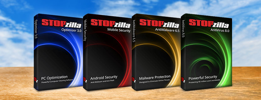 STOPzilla Line of Products
