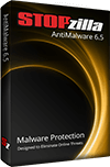 STOPzilla AntiMalware Software Box