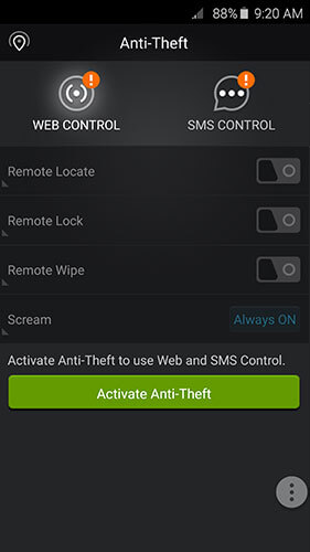Anti-Theft Screen