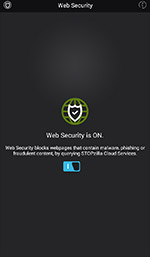 Web Security Screen