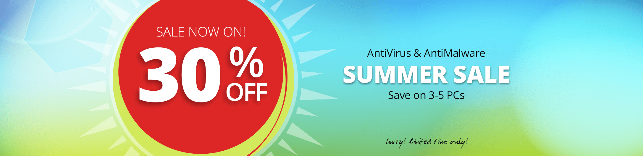 30% Off Summer Sale
